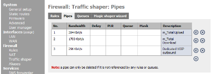 m0n0 ts pipes 440 m0n0wall Traffic Shaping For VOIP Screencast