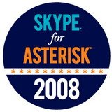 skypeforasterisklogo160px 723331 Digium Reports Status Of Skype For Asterisk