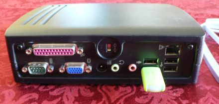 HP T5700 Rear Panel