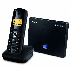 siemens a580ip 300 Review: The Gigaset A580IP SIP/DECT Cordless Phone System