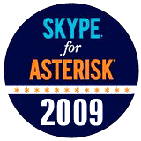 SkypeForAsteriskLogo.160px 2009 Skype For Asterisk Open Beta Now Available