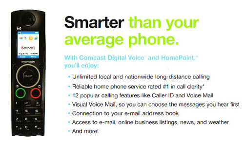 COMCAST HOMEPOINT BACK2 Comcast Digital Voice: HomePoint in HDVoice?