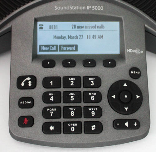 POLYCOM SOUNDSTATION IP5000 KEYPAD LCD CU 500 Review: The Polycom SoundStation IP5000 Conference Phone
