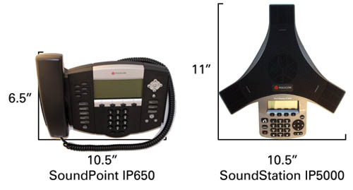 SoundStation IP 5000 VS IP650 500 Review: The Polycom SoundStation IP5000 Conference Phone