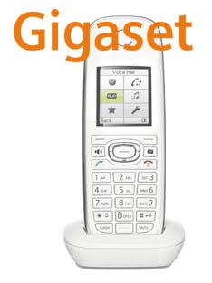 C59H WHITE Logo Gigaset SIP/DECT Handsets For 2010: Part 3   C59H
