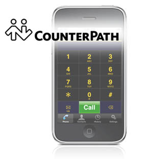 Counterpath Bria IPhone Edition 280 Counterpath Launches Bria iPhone Edition