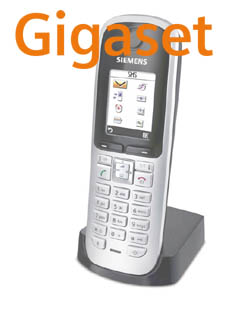 S67H WHITE Logo Gigaset SIP/DECT Handsets For 2010: Part 4 – S67H