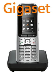 S79H Logo Gigaset SIP/DECT Handsets For 2010: Part 5 – S79H