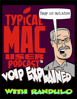 TMUP cover Randy On The Typical Mac User Podcast