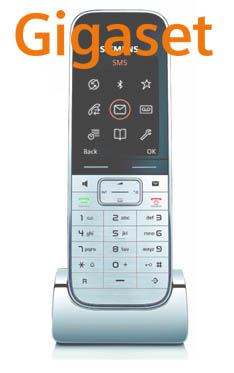 S78H WHITE Logo Gigaset SIP/DECT Handsets For 2010: Part 6 – SL78H