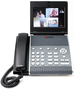 Polycom VVX 1500 Quad Split 250 VUC Video Calls: A Two Act Play