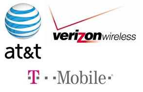 three mobile carriers Advantage GSM Carriers: Simultaneous Voice & Data