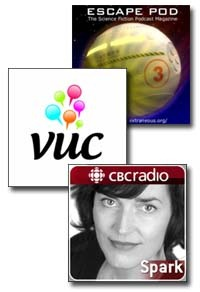 three podcasts A Ramble In Search Of A Topic: Podcasts, NAB, Convergence of Broadcast & IP Comms