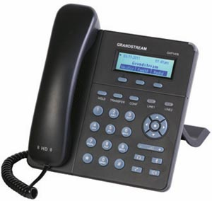 Grandstream GXP1400 300 Grandstream Networks New GXP 1400: HDVoice On The Cheap