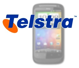 TelstraLogoHTCDesireS Australias Telstra = Worlds Largest HDVoice Service Footprint