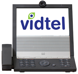 Vidtel Logo in TANDBERG E20 Vidtel's Scott Wharton: What's wrong with the video conferencing industry?