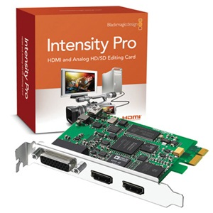 blackmagic design intensity pro Meta: Screencasting Using The BlackMagic Design Intensity Pro