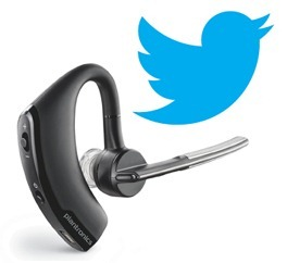 Twitter Bird Voyager Legend My First Tweet Up & The Plantronics Voyager Legend