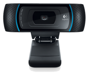 Logitech C910 Webcam Remote Conference Presentation via WebRTC
