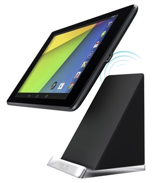 Asus PW100 Qi wireless charging stand for Nexus 7 2013 Asus Launches Official Charging Docks for Nexus 7