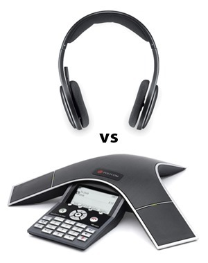 Headset vs Conference Phone Questioning New Dimensions In Conference Audio