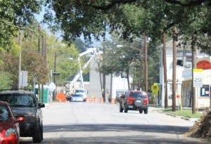 BG&E Utility Crew working at Beachamp & North Main Streets