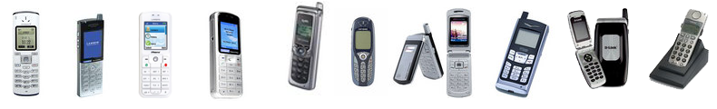 A Collection Of Wifi SIP Phones