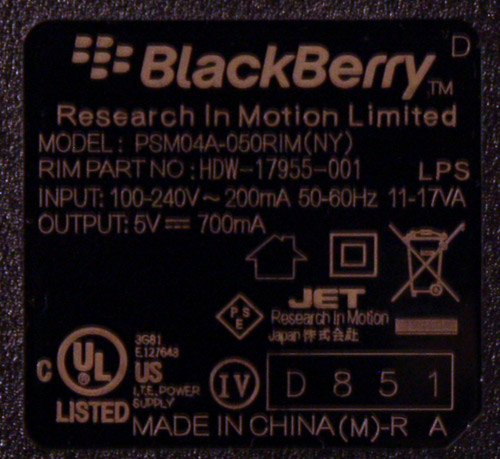 Blackberry-PSU-Output