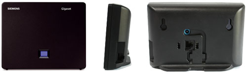 Gigaset S675IP Base - three views