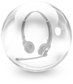 Headset-Bubble