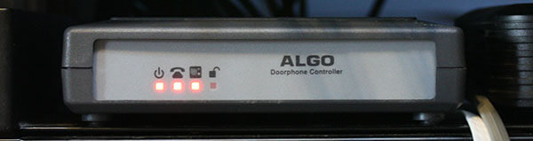 Algo 8028 SIP Doorphone Controller, Front View