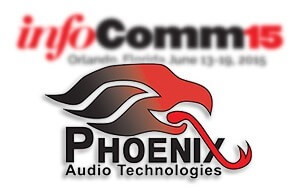 Phoenix Audio at InfoComm2015