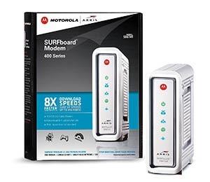 Motorola Arris SB6141 cable modem