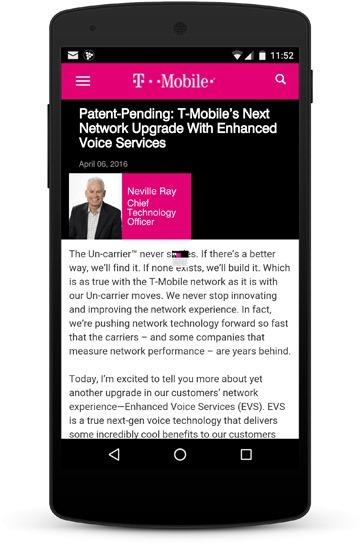 T-Mobile Nexus5 EVS