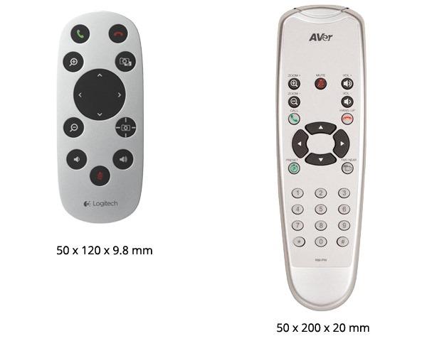 CC3000e vs VC520 remote